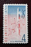 Почтовая марка США. 1960 год