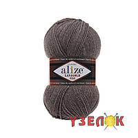 Alize Lanagold Fine №240 коричневый меланж, фото 1