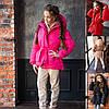 Р 134-152 Зимняя куртка с поясом для девочки 22605