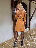Женское Платье на пуговицах, фото 3
