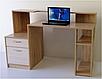 Стол компьютерный СК-11 (сонома+атланта), фото 2
