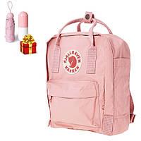 Рюкзак городской 16 л Fjallraven Kanken Classic (женский, мужской) / Канкен +зонт капсула розовый!, фото 1