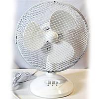 Вентилятор электрический бытовой настольный Wimpex WX-901TF 9'' / 2 скорости