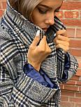 Жіноче довге пальто утеплене зі шліцом та двома кишенями під пояс (р. 42-46) 5802300, фото 7