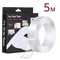 Многоразовая крепежная лента 5 м Ivy Grip Tape / Сверхсильная клейкая лента