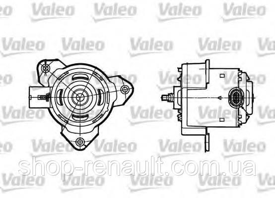 Моторчик (двигатель) вентилятора охлаждения Logan,MCV,Sandero фаза2 без a/c 1.4-1.6 8V MPI VALEO, 698302