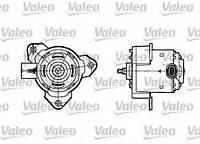 Моторчик (двигун) вентилятора охолодження Logan,MCV,Sandero фаза2 без a/c 1.4-1.6 8V MPI VALEO, 698302