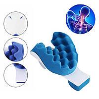 Релаксатор шеи и плеч NECKZEN / Массажная подушка для снятия мышечного напряжения, фото 1