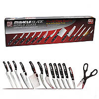 Набор профессиональных кухонных ножей Miracle Blade 13 в 1 + Подарок, фото 1