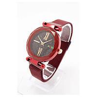 Женские наручные часы Sky Watch Красные