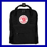 Городской рюкзак Kanken черный (Black), фото 1
