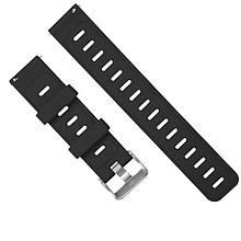 Amazfit Pace / Stratos / GTR 47 мм. Ремешок для смарт часов, Black, ширина - 22 мм.