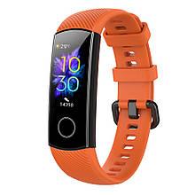Ремешок для фитнес-браслета Huawei Honor Band 4 и 5 Orange