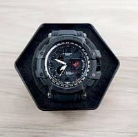 Мужские спортивные наручные часы Casio G-Shock Чёрные