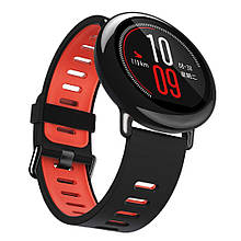 Amazfit Pace / Stratos / Stratos 2 Ремінець Black with red для смарт годин, ширина - 22 мм
