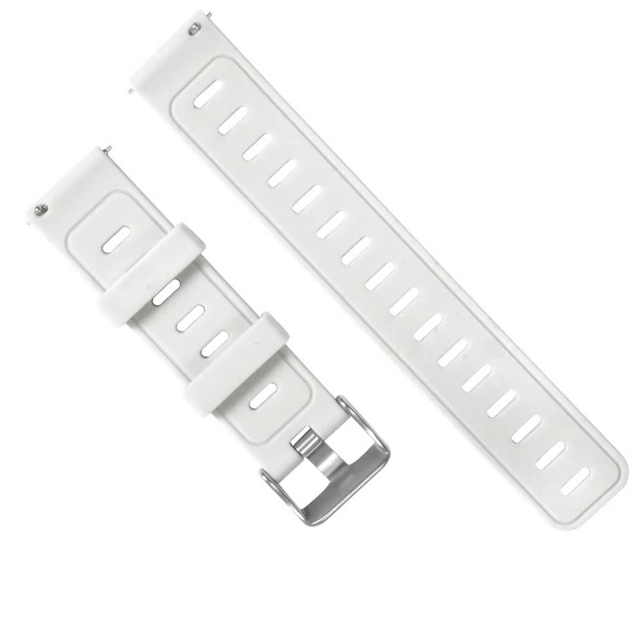 Amazfit Pace / Stratos / GTR 47 мм. Ремешок для смарт часов, White, ширина - 22 мм.