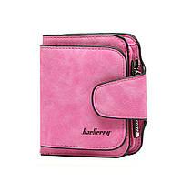 Женский замшевый кошелек Baellerry Forever Mini Розовый