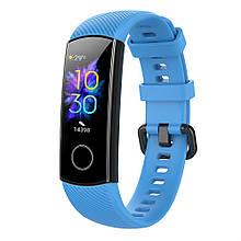Ремешок для фитнес-браслета Huawei Honor Band 4 и 5 Blue