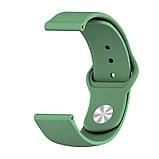 Amazfit Bip / GTS Ремінець для смарт годин c застібкою-кнопки, Khaki, ширина - 20 мм., фото 4