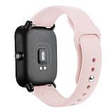 Amazfit Bip / GTS Ремінець для смарт годин c застібкою-кнопки, Pale pink, ширина - 20 мм., фото 3