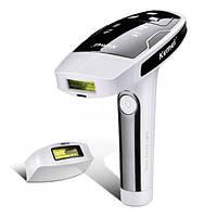 Лазерный эпилятор Kemei KM-6812 с картриджами / Фотоэпилятор