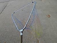 Подсак складной телескопический(леска ячейка 4 см ) 63*60*300 см