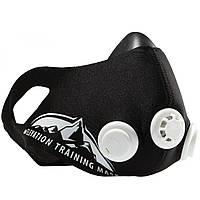 Тренировочная Силовая Маска дыхательная для бега и тренировок Elevation Training Mask 2.0 (размер L, от 100, фото 1