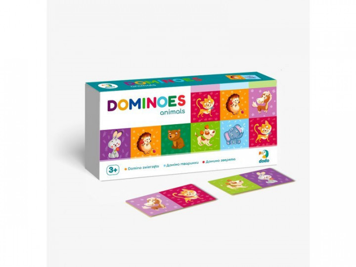300248 Игра Домино Животные