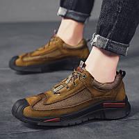 Чоловіче взуття,черевики, спортивна повсякденне взуття на відкритому повітрі, дихаюча нековзна, фото 1