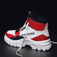 Мужские ботинки Martin, берцы зимняя обувь и теплая бархатная , фото 1
