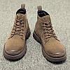 Чоботи Martin для чоловіків, модні чоловічі черевики, військові черевики в британському стилі, високі чоловічі туфлі