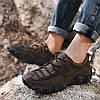 Чоловіча повсякденне взуття на відкритому повітрі черевики на шнурівці