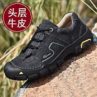 Чоловічі черевики Camel, похідна взуття, чоловіча непромокальна повсякденна шкіряне взуття на відкритому повітрі, фото 1