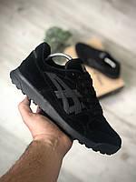 Чоловічі кросівки Asics Gel Lyte Black Чорні, Репліка