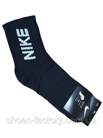 Мужские высокие носки Nike, Black, фото 2