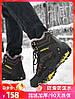 Зимние ботинки мужские зимние плюс бархатная толстая теплая обувь