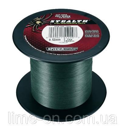Шнур Spiderwire stealth Moss Green 1800м - LIME online магазин в Харькове