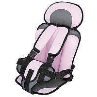 Универсальное бескаркасное автокресло Oxgift для детей Розовый (hub_zRRB75186)