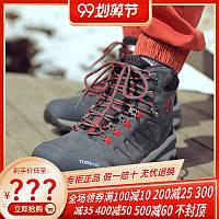 Похідна взуття чоловіче зима плюс оксамит, нековзна зносостійка взуття черевики чоловічі, фото 1