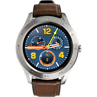 Смарт-часы Gelius Pro GP-L3 (URBAN WAVE 2020) (IP68) Silver/Dark Brown (Pro GP-L3 (URBAN WAVE 2020) Dark Brown)
