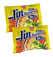 Корейская лапша Рамен Jin Ramen Mild Ottogi со вкусом грибов Оттоги 120g (Корея), фото 1