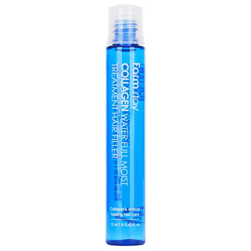 Farmstay Collagen Water Full Moist Hair Treatment Filler Зволожуючий філлер з колагеном для волосся, 13 мл