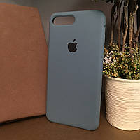 Чехол бампер silicone case для Iphone 7 Plus  . Силиконовый чехол накладка на айфон 7+ / 8+