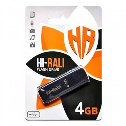 Флеш-накопитель USB 4GB Hi-Rali Taga Series Black (HI-4GBTAGBK), фото 2