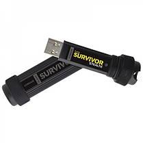 Флеш-накопитель USB3.0 256GB Corsair Flash Survivor Stealth military-style aluminum waterproof 200m Stealth, фото 2