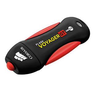 Флеш-накопитель USB3.0 256GB Corsair Flash Voyager GT water-resistant all-rubber housing R230/W160MB/s, фото 2