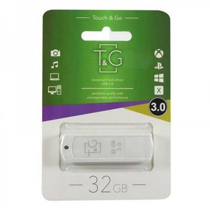 Флеш-накопитель USB3.0 32GB T&G 011 Classic Series White (TG011-32GB3WH), фото 2