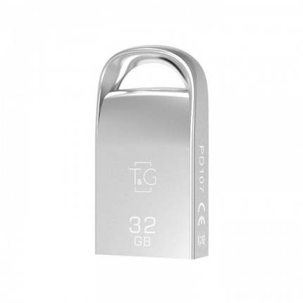 Флеш-накопитель USB3.0 32GB T&G 107 Metal Series Silver (TG107-32G3), фото 2
