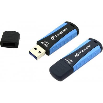 Флеш-накопитель USB3.0 32GB Transcend JetFlash 810 Blue (TS32GJF810), фото 2