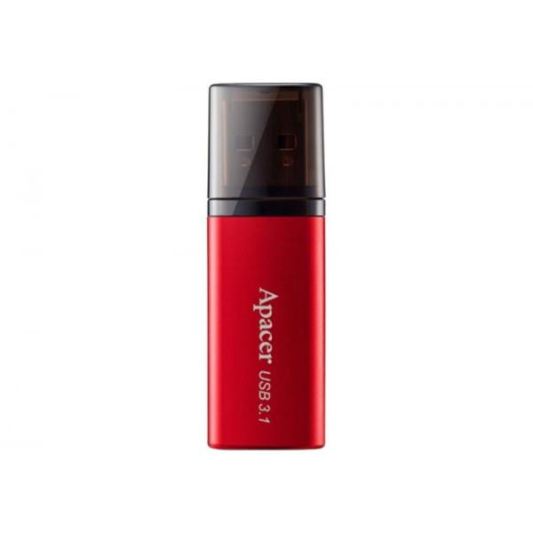 Флеш-накопитель USB3.1 128GB Apacer AH25B Red (AP128GAH25BR-1)
